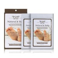 Deoproce - купить Пилинг для ног Anskin Natural Baby Foot Peeling Mask / Sheet, 40 мл на Deoprocemarket.ru